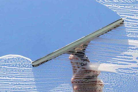 Мытье окон и фасадов