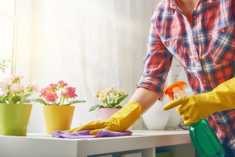 Поддерживающая уборка